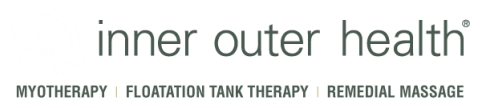 Inner Outer Health - Myotherapy, Remedial Massage, Relaxation Massage, Floatation Therapy, Isolation Tank, Sensory Deprivation Tank.